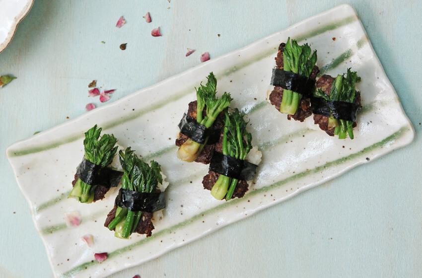 Namul (platos de verduras)