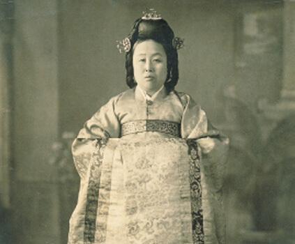 Primera máster de la cocina de la realeza Han Hui-sun