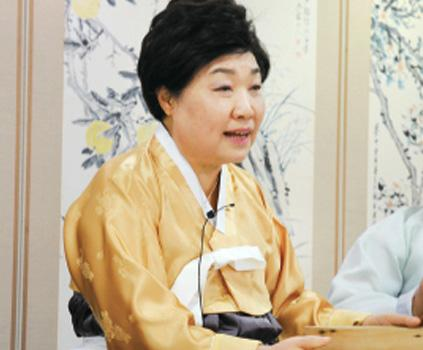 Tercera máster de la cocina de la realeza Chung Gil-ja