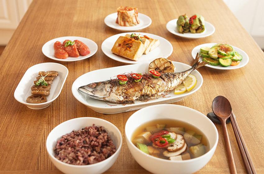 Tipos de comida coreana