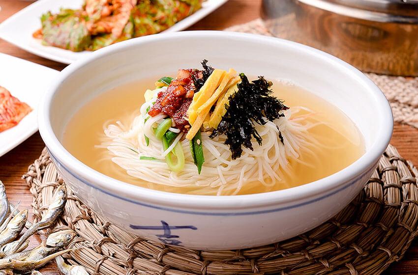 Condimentos y estilo de la comida coreana
