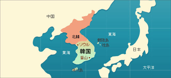 韓国地図 :韓国観光公社 ... : 世界の国の首都 : すべての講義