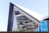 국제컨벤션센터인 송도컨벤시아 외관