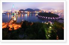 Yeosu, ciudad marítima rodeada de bellos puertos y múltiples islas