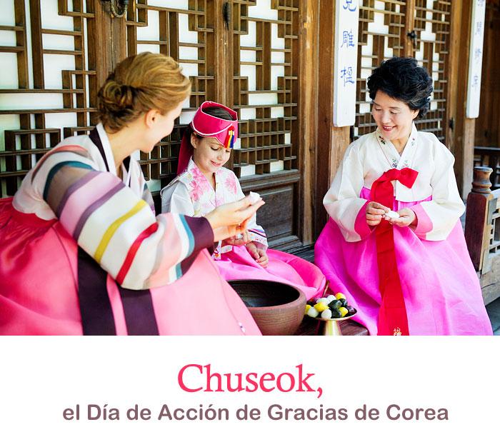 Chuseok, el Día de Acción de Gracias de Corea
