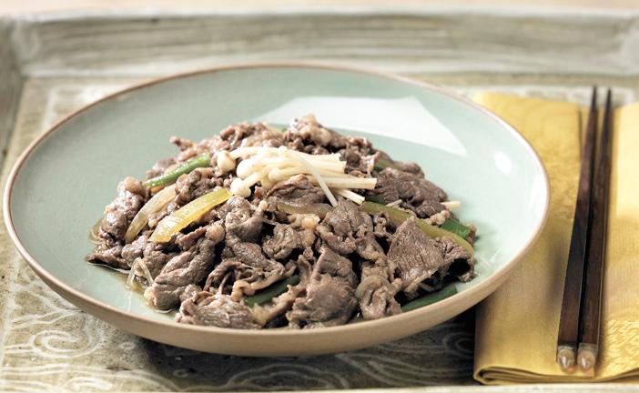 Bulgogi (cortesía de la Fundación de la Comida Coreana).