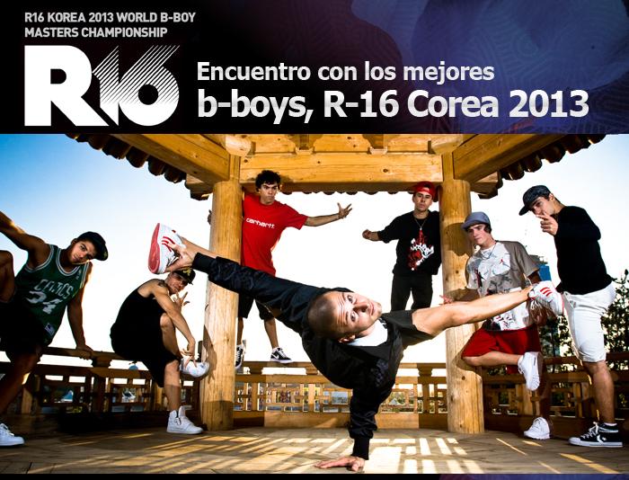 Das Treffen von Sommer und B-Boying R-16 Korea'