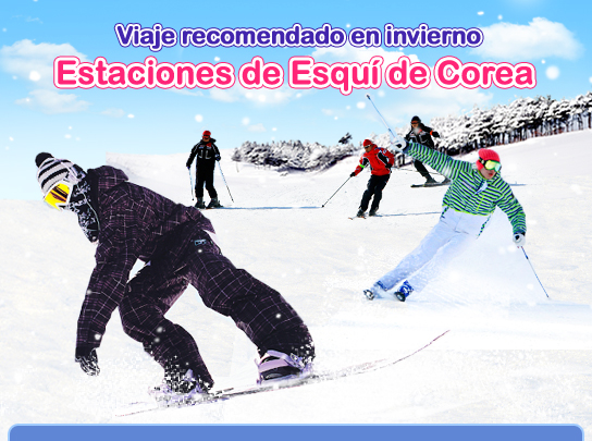 Estaciones de Esquí de Corea