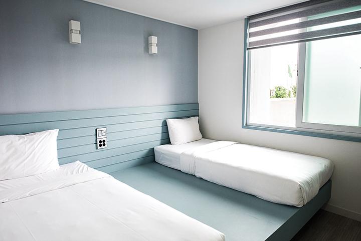 침대방 객실 내부