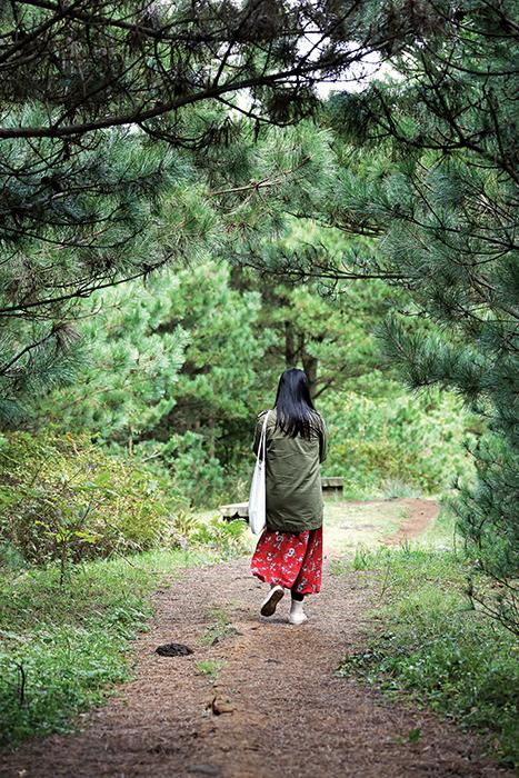 아부오름 숲길