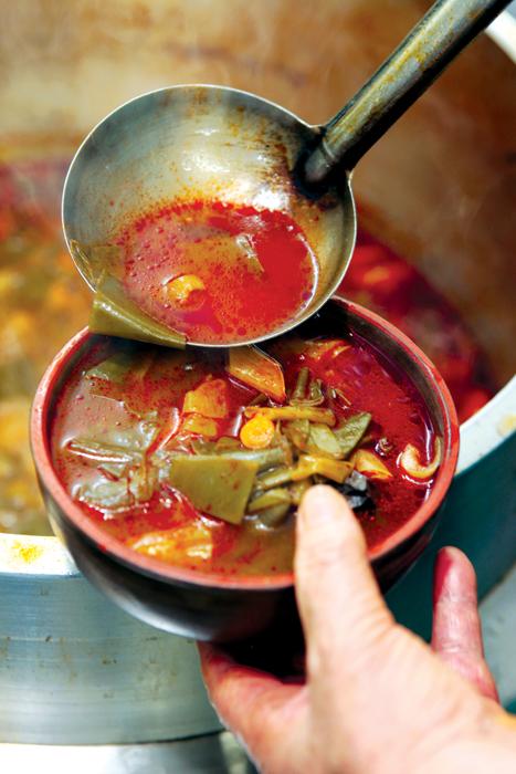 대구식 따로국밥