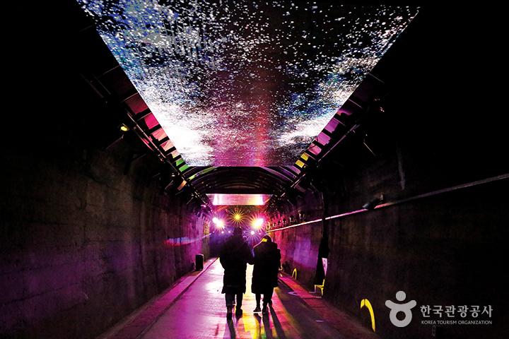 복합 멀티미디어 공간으로 다시 태어난 빛터널