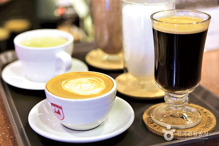 여러종류의 커피