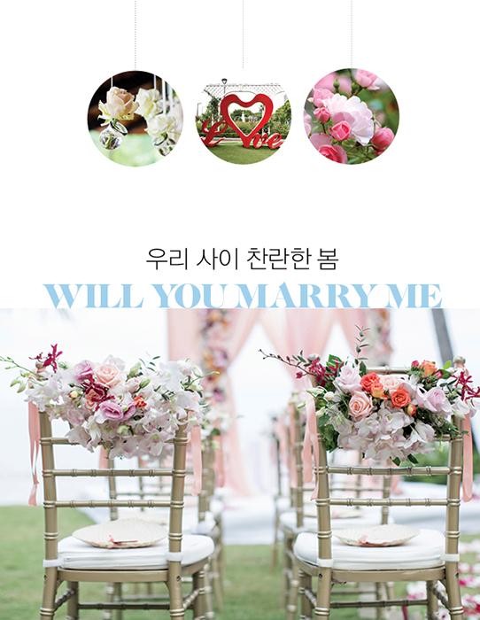 우리 사이 찬란한 봄 Will you marry me