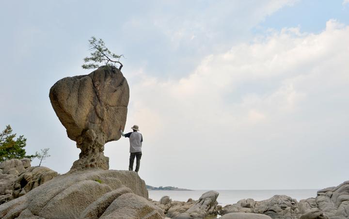 고성 서낭 바위
