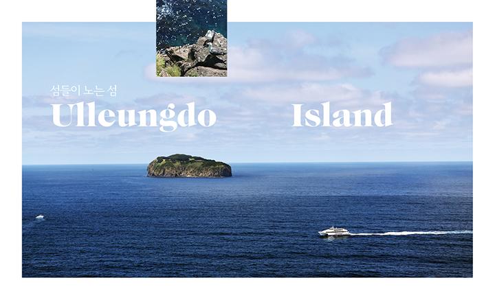 섬들이 노는 섬, 울릉도