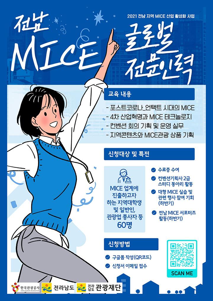 2021 전남 지역 MICE 산업 활성화 사업