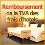 Remboursement de la TVA des frais d'hotels