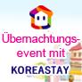 Übernachtungsevent mit Koreastay