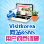 Visitkorea网站&SNS 用户问卷调查