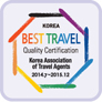 Best Travel Certification by KATA
