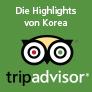 Die beliebtesten Reiseziele von Touristen in Südkorea
