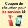 Opération réduction spéciale sur les Hotspots WiFi KT(egg)