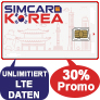 Rabattcoupon Simcard-Korea