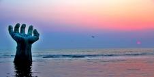 호미곶 일출