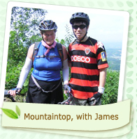 Mountaintop, with James