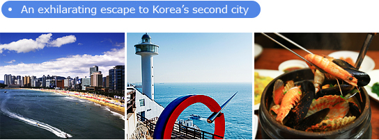 An exhilarating escape to Korea's second city