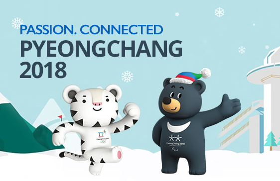 PASSION. CONNECTED. PYEONGCHANG 2018