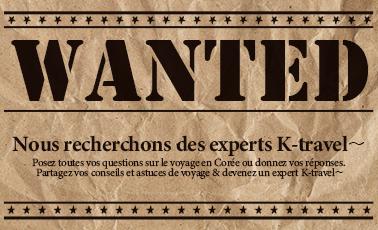 Nous recherchons des experts K-Travel !