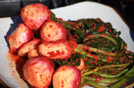 강화에서만 맛볼 수 있는 알싸한 가을의 맛, 강화순무