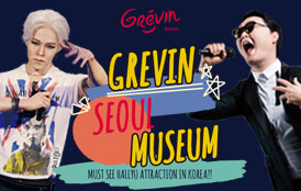 Descuento especial para Grevin Seoul Museum