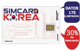 ¡30% de descuento en SIMCARD-KOREA!