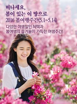 2016 봄여행주간 (5.1~5.14)