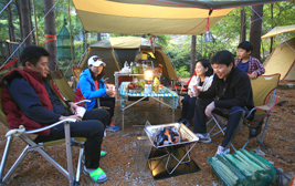 서울중랑캠핑숲, 도심 속 자연의 품에서 캠핑라이프