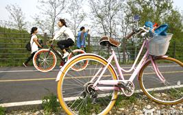 남한강 자전거길, 강바람 따라 시원한 라이딩