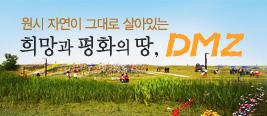원시 자연이 그대로 살아있는 희망과 평화의 땅 DMZ
