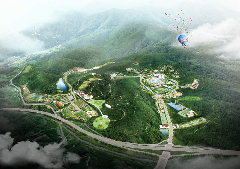 YEONGDONG County Rainbow Healing Resort Hotel Development Project