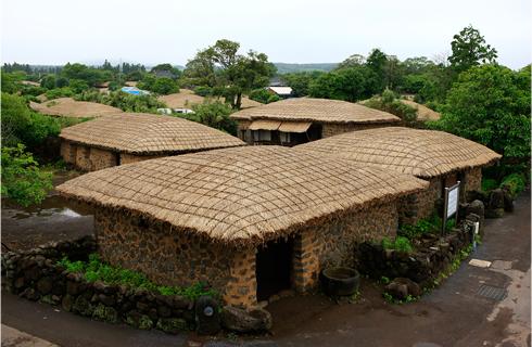성읍민속마을 전경 입구