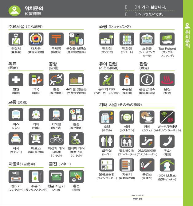 4. 위치문의, 자세한 내용은 하단링크의  TOUCH IT PAPER 일본어 PDF 파일을 참조하시기 바랍니다.