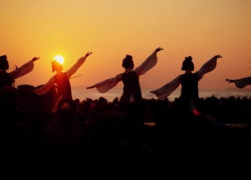 Gyeongpo Sunrise Festival. Fonte: Korean Tourism Organization.