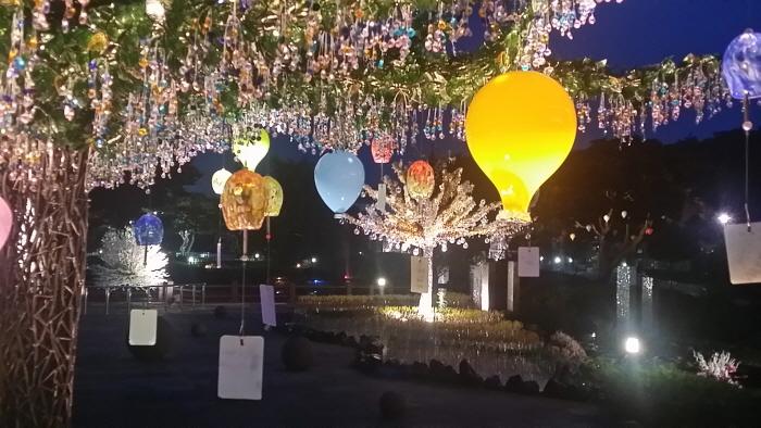 제주유리의성 별빛축제 야간개장 2019