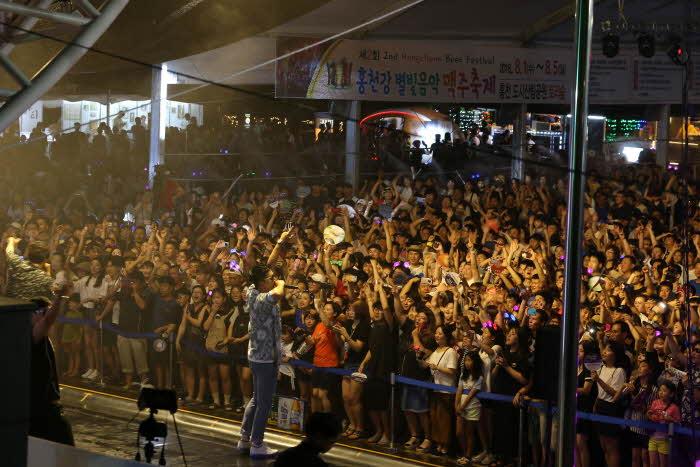 홍천강 별빛음악 맥주축제 2019