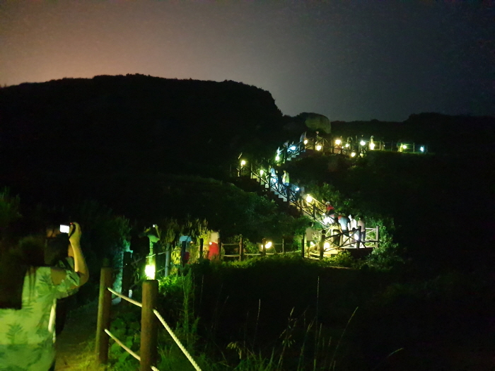 남해 다랭이 마을 달빛걷기 2019