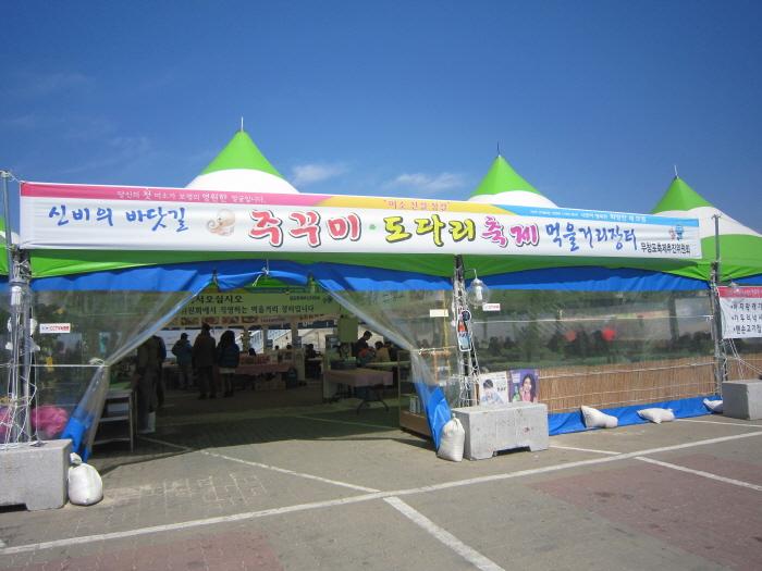 무창포 신비의 바닷길 주꾸미·도다리 축제 2019
